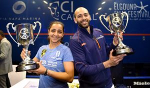 2018 : Marwan and Raneem shine